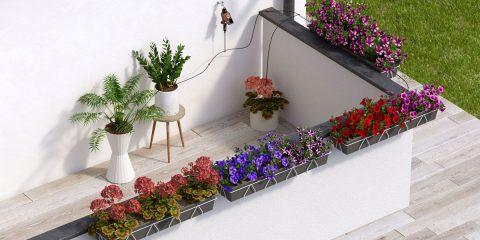 irrigazione terrazzo