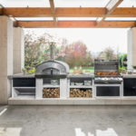 Cucina modulare da esterno | Cookie di Palazzetti