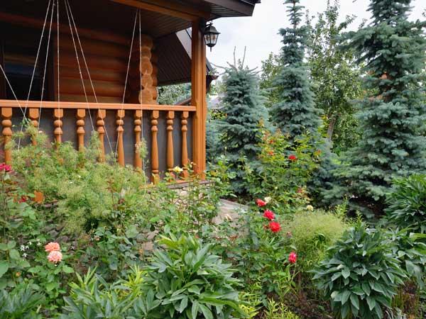 giardino con orto e frutteto