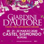 Giardini d'Autore a Castel Sismondo | Rimini dal 20 al 22 marzo