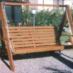 Dondolo da giardino in legno | Realizzazione fai da te