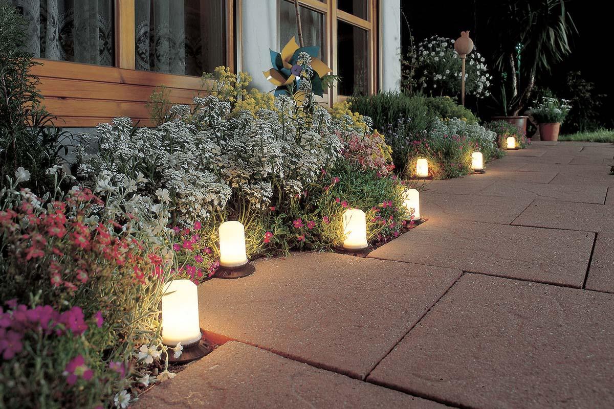 luci segnapasso da esterno
