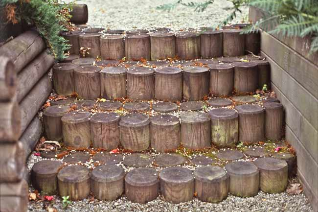 scale da giardino