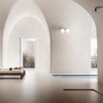 Pratiche, versatili, eleganti ed eterne, le colonne doccia EVA e LILITH di Damast si ambientano sia all'aria aperta che in un'elegante SPA per donare un momento di totale relax