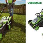 Rasaerba RS20 Verdemax: silenzioso e a doppia batteria con mulching